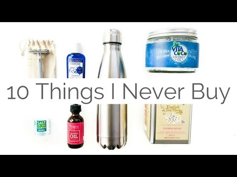10 things I Never Buy | Minimalist Journey | Zero Waste