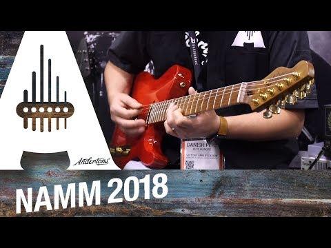 Chapman - New Guitars & Basses! - NAMM 2018