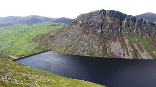Drone Video of the Mourne Mountains in Northern Ireland