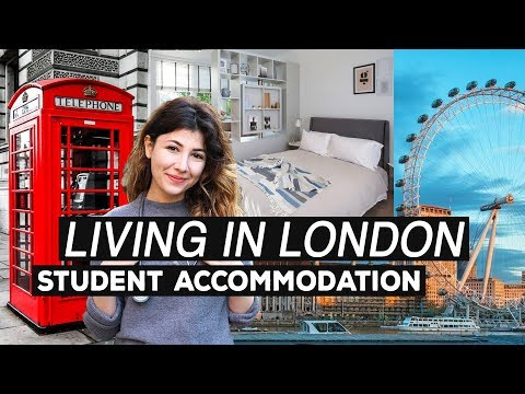 LIVING IN LONDON: Student Accommodation | University Halls, Studios & Private Rooms | Atousa