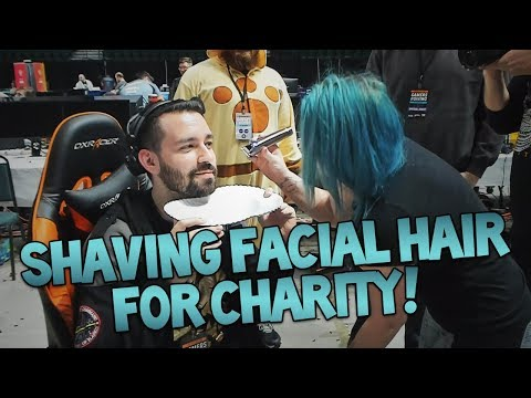 Eating Bean-Boozled Beans & Shaving Facial Hair For Charity! (Gamers For Giving Highlights)