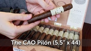 Unboxing The CAO Pilón Corona (5.5