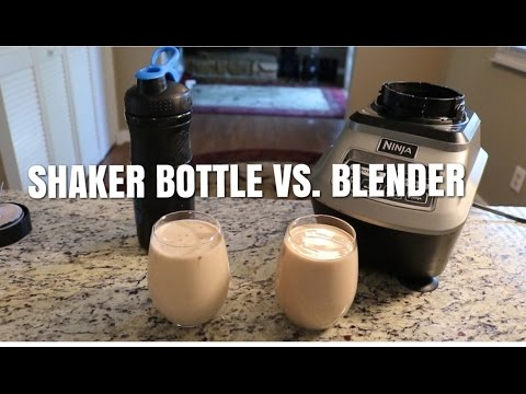 Change Meals New Uses of Your Shaker Bottle
