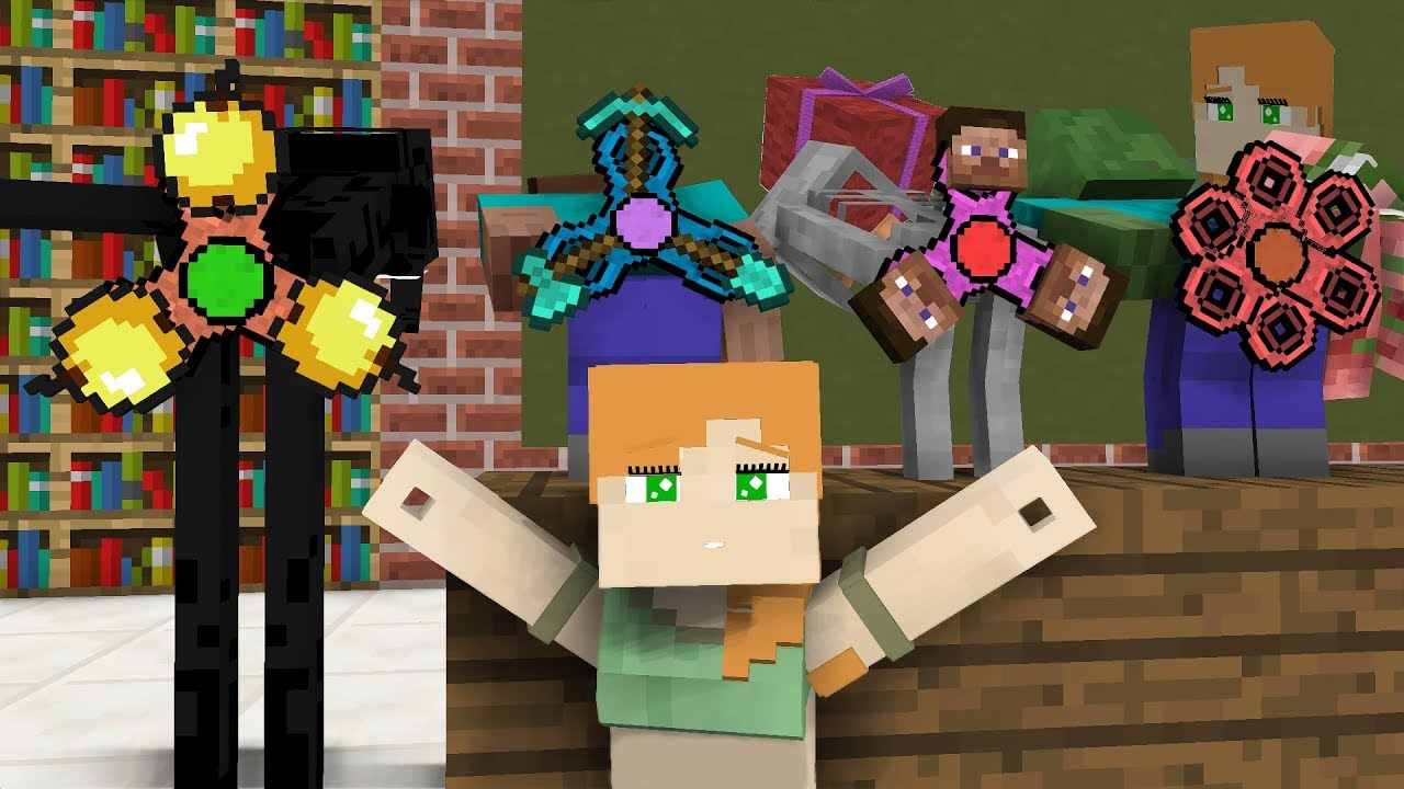 Monster School Gifts For Alex Minecraft Animation