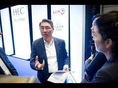 Matin HEC Avec Zhang Minggang, Deputy CEO France De Huawei