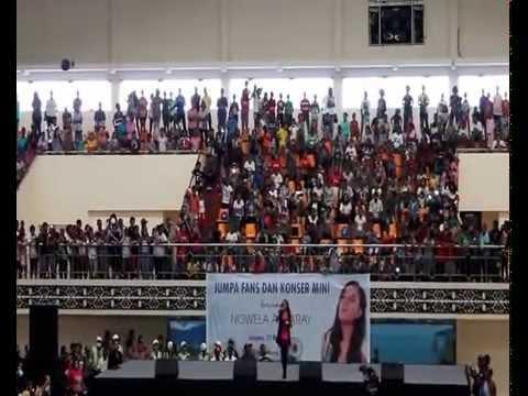 NOWELA - Concert Di GOR Waringin Kotaraja Jayapura_Senin 12 Mei 2014