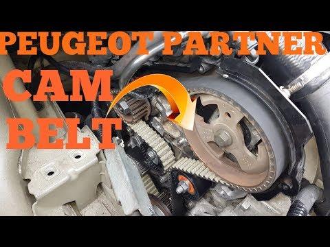 DIY: HOW TO REMOVE PEUGEOT PARTNER 1.6 HDI TIMING BELT (Part 1)