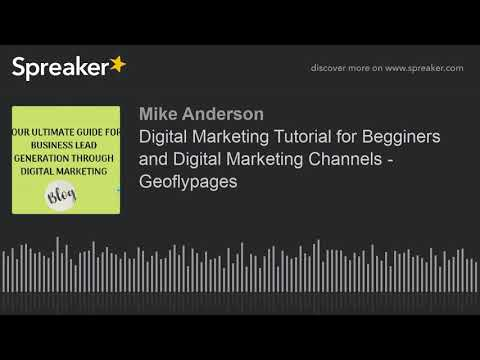 Digital Marketing Tutorial for Beginners and Digital Marketing Channels - Geoflypages thumbnail
