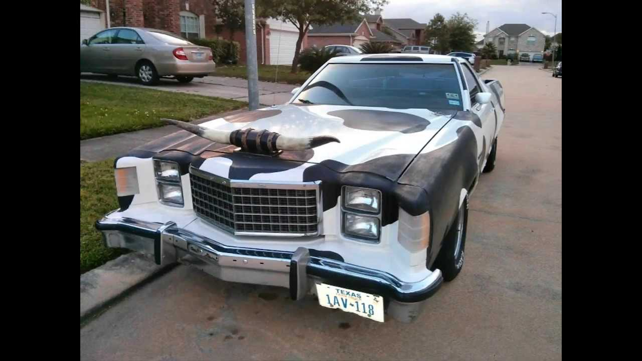 1978 ford ranchero transformation painted - 1978 Ford Ranchero