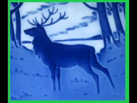 The Stag ROYAL COPENHAGEN Blue Christmas Plate Year 1960 & what it is worth
