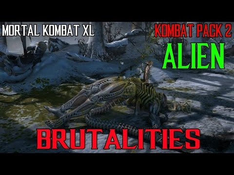 Mortal Kombat XL Alien Brutalities Kombat Pack 2 DLC  