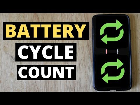 How To Check Battery Cycle Count On IPhone!