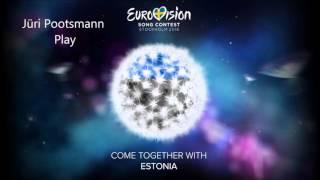 Jüri Pootsmann - Play (ESC Estonia 2016) - Piano Cover + Sheet Music