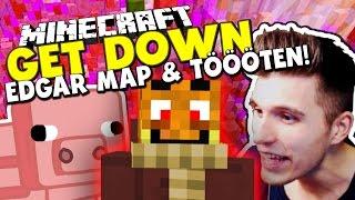 COOLE EDGAR MAP & FINALE GEGEN MICH SELBST?!  ✪ Minecraft GET DOWN - AbwechslungsOFFENSIVE