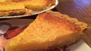 Chef Michael's Buttermilk Pie