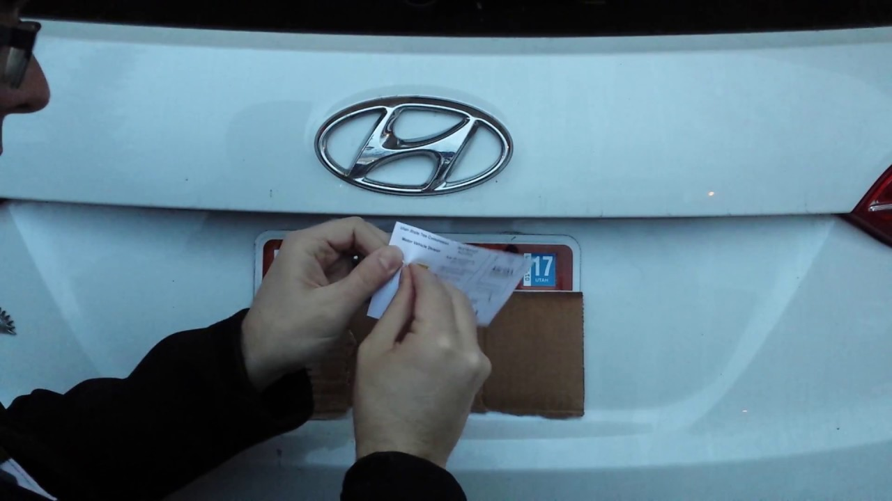 Updating Your Car Registration Sticker Youtube [ 720 x 1280 Pixel ]