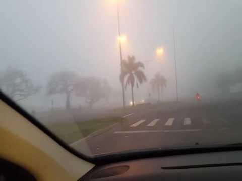 La niebla tapó la ciudad