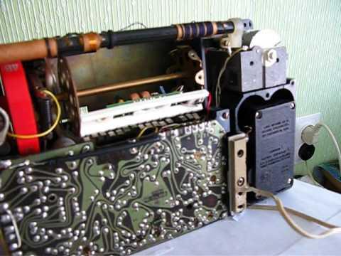 Обзор Радиоприемник ВЭФ 202 (VEF 202) 1971 год - YouTube