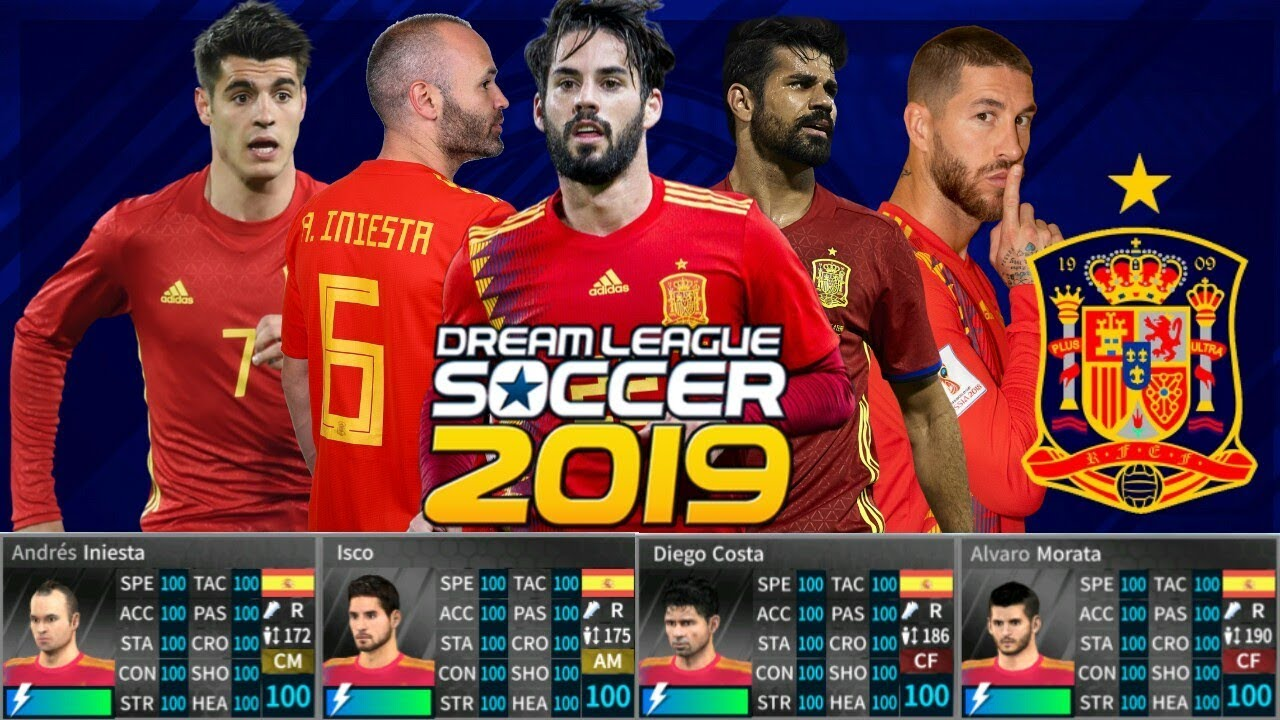DREAM LEAGUE SOCCER 2019 Hack Spain 6 07 No Root (All