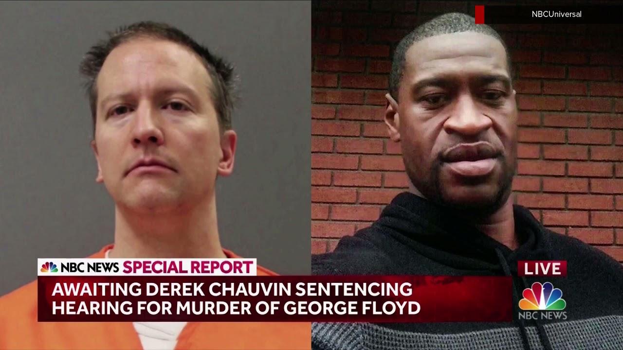 NBC News Special Report open: Derek Chauvin sentencing June 25, 2021
