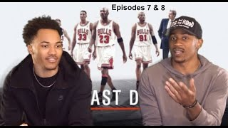 """Michael Jordan's """"The Last Dance"""" Ep 7 and 8 Reaction! Very Emotional Episodes!!"""