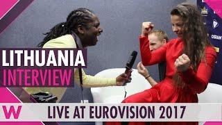 Fusedmarc (Lithuania) interview @ Eurovision 2017 | wiwibloggs