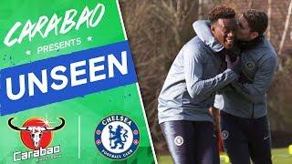 #Jorginho's Hilarious Kiss On #Hudson-Odoi, Cup Final Prep I Chelsea Unseen