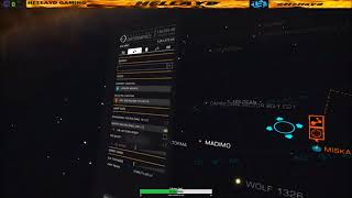Elite Dangerous VR Using Galaxy Map With Oculus rift Touch Controllers no voice attack needed