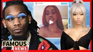 Cardi B Divorcing Offset Over Cuban Doll Threesome Leak &amp more Famous News