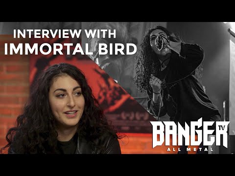 IMMORTAL BIRD interview on collaborative songwriting and doing things their own way