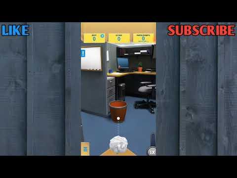 Paper Toss|GamePlay
