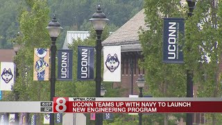 UConn to join forces with Navy for education