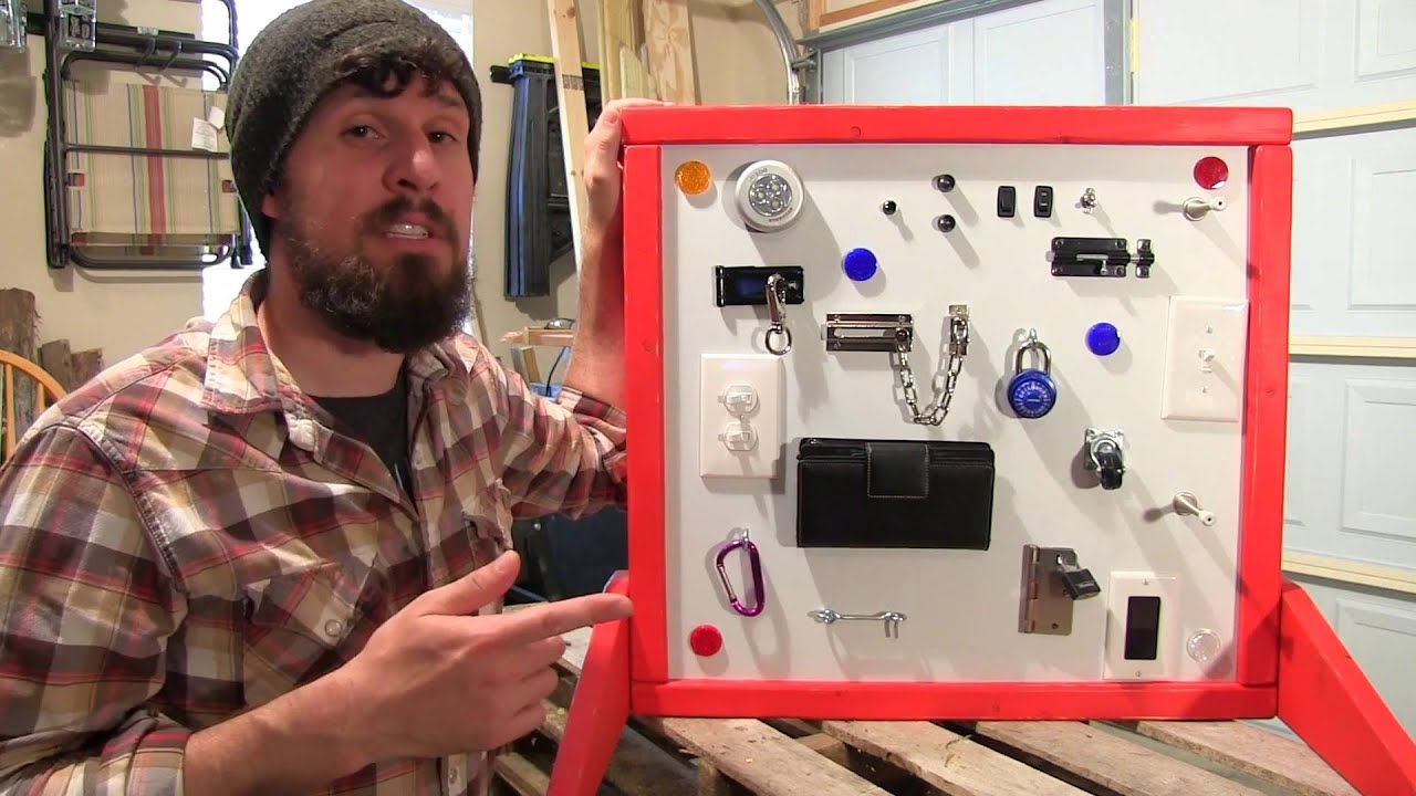 How To Make A Childrens Activity Board Youtube
