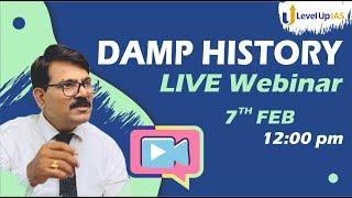 History DAMP Webinar I Rajnish Raj Sir