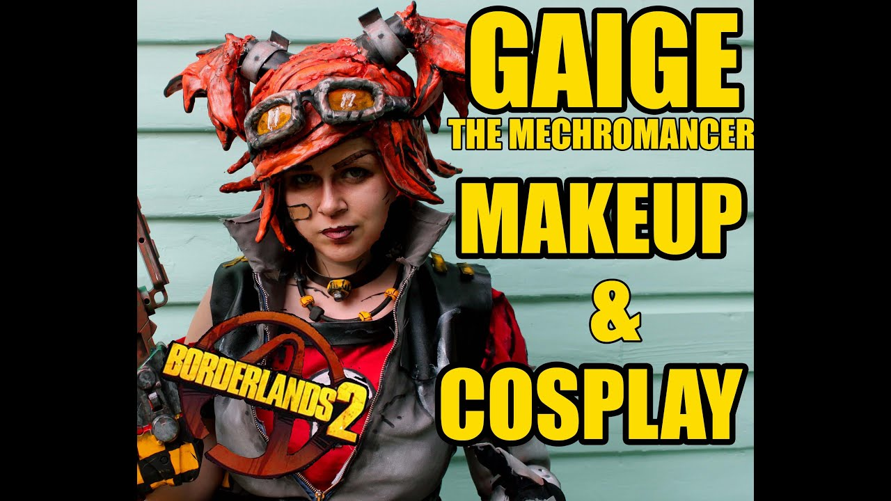Borderlands Cosplay Cel Shading Makeup Gaige