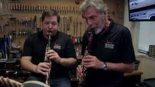 Eddie Daniels and Ben Lulich Play Mozart Clarinet Duets | Backun Live
