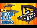 8 Best Outdoor Chaise Lounges 2017