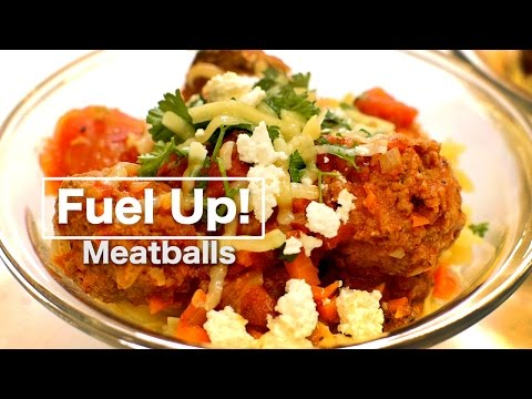Hearty Meatballs in tomato sauce | Fuel Up! (sport nutrition series)