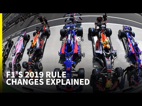 F1's 2019 rule changes explained - YouTube