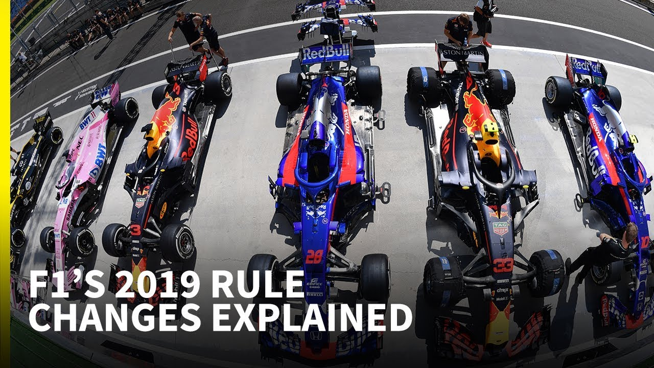 Calendario Test F1 2020.F1 S 2019 Rule Changes Explained