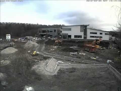 Kirklees College's Engineering Centre time lapse