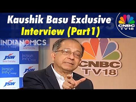 Indianomics Special: Kaushik Basu Exclusive Interview | Improvising Ease of Doing Biz (Part 1)