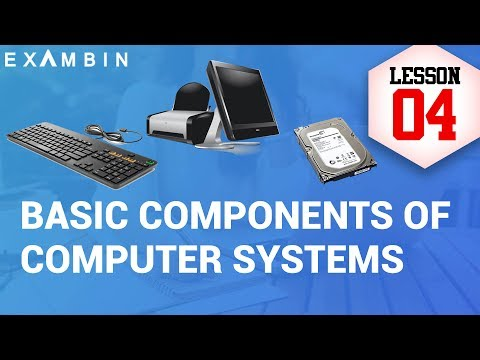 Components of Computer System - An Introduction to CPU, I/O Devices  | Computer awareness - Lesson 4