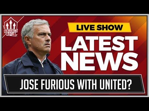 Alvaro MORATA To MAN UTD This week! Plus MOURINHO Furious with WOODWARD! MAN UTD Transfer News