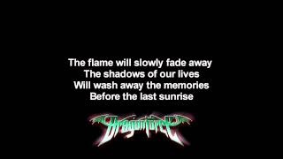 DragonForce - Defenders ft. Matt Heafy | Lyrics on screen | Full HD
