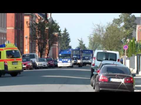 THW OV Reichenbach/V. *Einsatzfahrt* Katastrophenübung Vogtlandkreis
