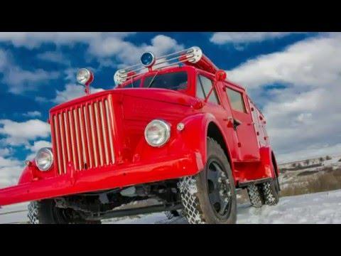 Ретро Газ 51 ПМГ 6, Пожарный автомобиль