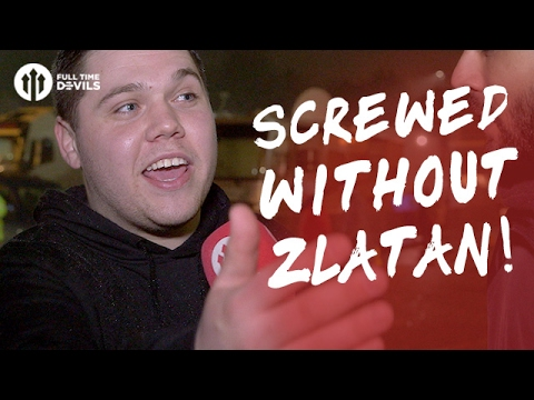 Screwed Without Zlatan! | Blackburn Rovers 1-2 Manchester United | FANCAM