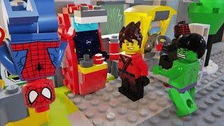 Lego Spider Man, Hulk and Ninjago Arcade Game