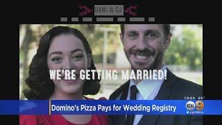 Domino's Gifts Wedding Registry To Northridge Couple